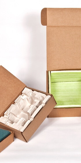 Corrugated cardboard packaging